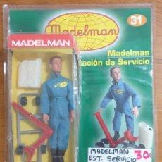 Madelman: MADELMAN ESTACIÓN DE SERVICIO NUEVO SIN DESPRECINTAR. Lote 225310820