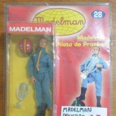 Madelman: MADELMAN PILOTO DE PRUEBAS NUEVO SIN DESPRECINTAR. Lote 225311645