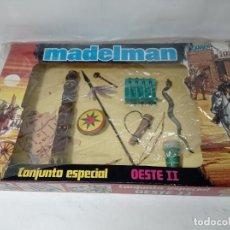 Madelman: ¡¡LOS ORIGINALES!! MADELMAN ORIGINAL MADEL S.A AÑOS 80. 2ª GENERACIÓN OESTE SET INDIO. Lote 226455455