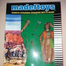 Madelman: MADELMAN MDE GUERRERO INDIO NUEVO EN CAJA. APACHE. OESTE. FAR WEST.. Lote 227054635