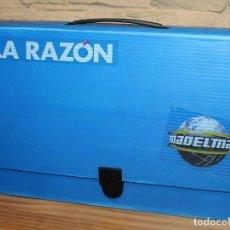 Madelman: MADELMAN - MALETIN DE LA RAZON - 4 MUÑECOS - PERFECTO ESTADO - NUEVO, SIN USO. Lote 227712675