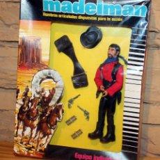 Madelman: MADELMAN CUATRERO - REF 1.222 - FIGURA Y CAJA ORIGINAL - PRECINTO ORIGINAL - UNICO EN TODOCOLECCION. Lote 227847250