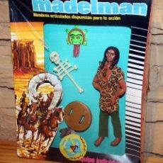 Madelman: MADELMAN HECHICERO - REF 1220 - FIGURA Y CAJA ORIGINALES - PRECINTO ORIGINAL - NUEVO. Lote 227914200