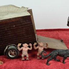 Madelman: CONJUNTO DE ANIMALES. ORIGINALES MADELMAN. PRIMERA GENERACION. CIRCA 1970.. Lote 231293930