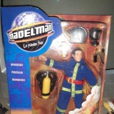 Madelman: MADELMAN BOMBERO.POPULAR DE JUGUETES.. Lote 233901690