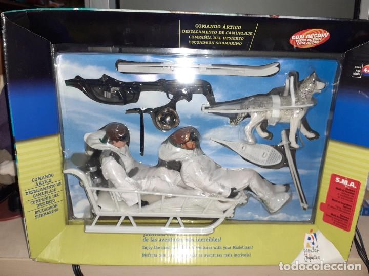 Madelman: Madelman Comando Artico.Popular de Juguetes.Set completo con dos muñecos. - Foto 5 - 233908375