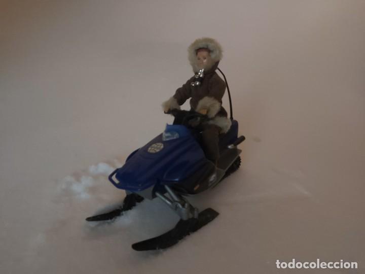 Madelman: Madelman MDE moto de nieve azul - Foto 2 - 234937010