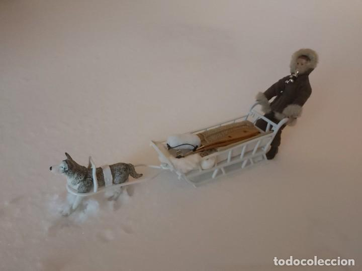 Madelman: Madelman MDE Explorador polar con trineo, perro, latigo, prismáticos, pico, saco, fardo, cuerda, etc - Foto 7 - 234942040