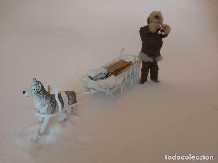 Madelman: Madelman MDE Explorador polar con trineo, perro, latigo, prismáticos, pico, saco, fardo, cuerda, etc - Foto 9 - 234942040