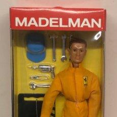 Madelman: MADELMAN ALTAYA MECÁNICO DE BOXES NUEVO EN CAJA, NÚMERO 27. Lote 238099550