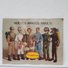 Madelman: CATALOGO MADELMAN NUEVOS AMIGOS PARA TI - CATALOGO MADELMAN 1970 - 8 PAGINAS FORMATO APAISADO. Lote 243499890
