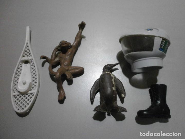 LOTE ORIGINAL MADELMAN CASCO ASTRONAUTA MONO Y MAS (Juguetes - Figuras de Acción - Madelman)