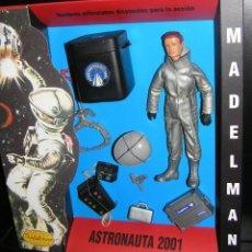 Madelman: MADELMAN MDE ASTRONAUTA 2001 ODISEA ESPAÑCIAL ORIGINAL DE PRIMERA GENERACIÓN EN CAJA CUSTOM Y EQUIPO. Lote 243865160