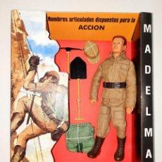 Madelman: MADELMAN MILITAR ZAPADOR PRIMERA GENERACION REF.1001. Lote 245744800