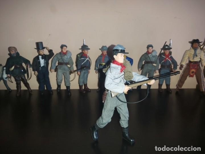 Madelman: Madelman MDE Caballeria confederada, sudista, completo. Guerra Civil Americana. Oeste, Far West 7 - Foto 3 - 246686375