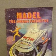 Madelman: MADELMAN . CATALOGO PUBLICITARIO MADELMAN - BUEN ESTADO.. Lote 247245920