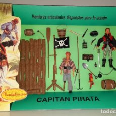 Madelman: MADELMAN SUPER EQUIPO CAPITÁN PIRATA PRIMERA GENERACION REF.154. Lote 251593045