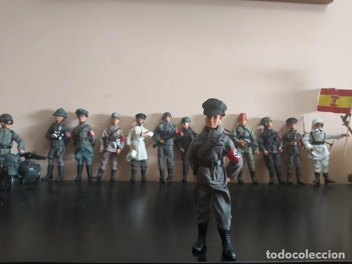 MADELMAN MDE OFICIAL ALEMAN SEGUNDA GUERRA MUNDIAL. III REICH. IIWW. GESTAPO, SS, NAZI. (Juguetes - Figuras de Acción - Madelman)