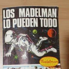 Madelman: CATALOGO LOS MADELMAN LO PUEDEN TODO - FABRICADO POR MADEL 1975 - MADELMAN ORIGINAL. Lote 257336825