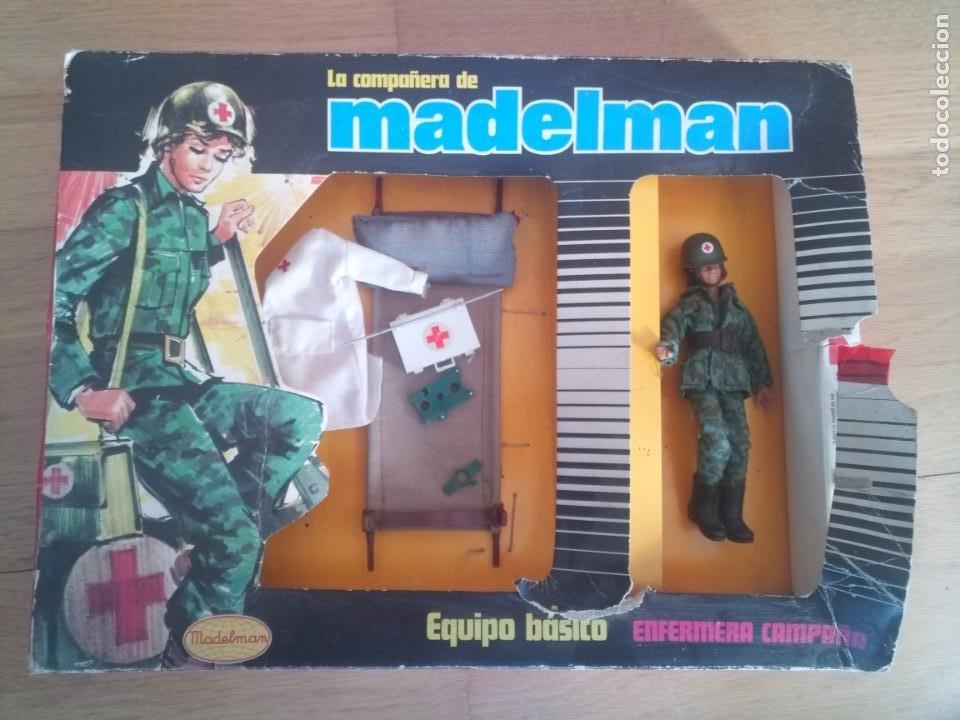 ORIGINAL MADELMAN LA COMPAÑERA ENFERMERA DE CAMPAÑA 524 (Juguetes - Figuras de Acción - Madelman)