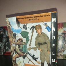 Madelman: MADELMAN MDE ORIGINAL PRIMERA GENERACIÓN SOLDADO MILITAR ZAPADOR EN CAJA EQUIPO INDIVIDUAL CUSTOM. Lote 265446774