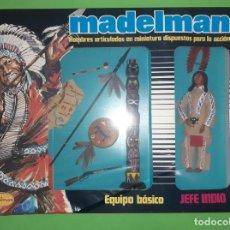 Madelman: JEFE INDIO EN CAJA PRECINTADA DE ORIGEN REF. 504 MADELMAN ORIGINAL. Lote 268164049
