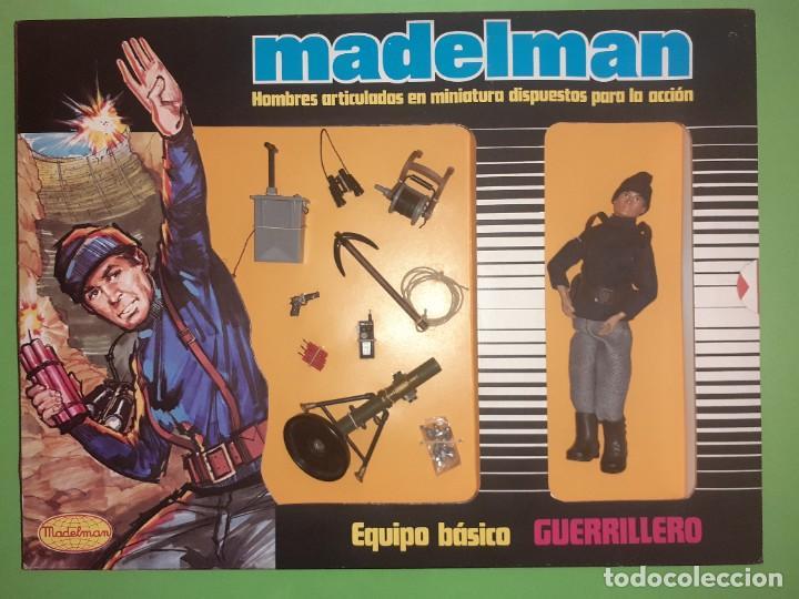 GUERRILLERO EN CAJA REF. 512 MADELMAN ORIGINAL (Juguetes - Figuras de Acción - Madelman)