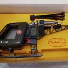 Madelman: MADELMAN HELICOPTERO EN CAJA ORIGINAL. Lote 268406099