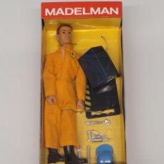 Madelman: MADELMAN ALTAYA MECÁNICO DE BOXES NUEVO EN CAJA, NÚMERO 27. Lote 269298723