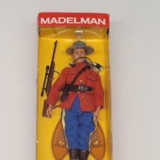 Madelman: MADELMAN ALTAYA POLICÍA MONTADA DEL CANADA NUEVO EN CAJA, NÚMERO 2 PRESERIE. Lote 269299738