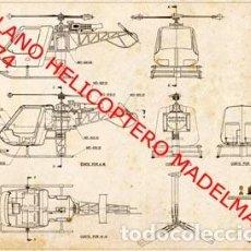 Madelman: MADELMAN PLANO HELICÓPTERO 1974. Lote 269440963