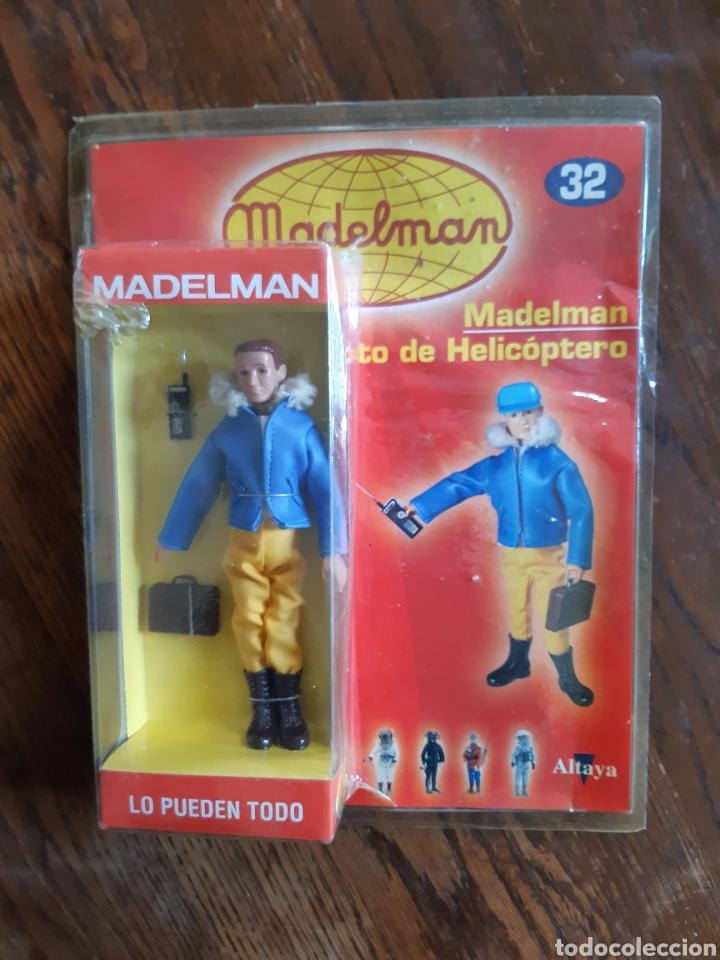MADELMAN PILOTO HELICOPTERO ALTAYA (Juguetes - Figuras de Acción - Madelman)