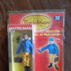 Madelman: MADELMAN PILOTO HELICOPTERO ALTAYA. Lote 269494888