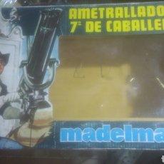 Madelman: MADELMAN ORIGINAL. CAJA VACIA AMETRALLADORA. BIEN CONSERVADA. VER FOTOS.. Lote 271913783