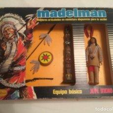 Madelman: MADELMAN EQUIPO BÁSICO JEFE INDIO. Lote 274916768
