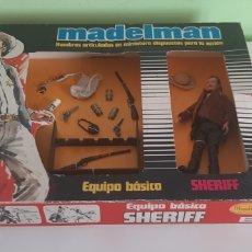 Madelman: MADELMAN SHERIFF EN CAJA ORIGINAL. Lote 278208128