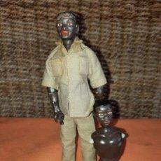 Madelman: MADELMAN.PORTEADOR.LOTE DOS MANIQUIES.SAFARI KENIA.1/2 GENERACION.. Lote 278331528
