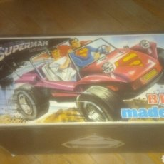 Madelman: MADELMAN ORIGINAL. DIFICIL CAJA VACIA DEL BUGGY SUPERMAN. BUEN ESTADO. 1 ESQUINA CON DEFECTO. FOTOS.. Lote 280681153