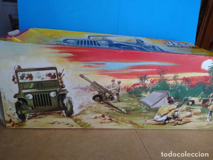 Madelman: caja jeep safari madelman original asientos duros - Foto 2 - 287848718