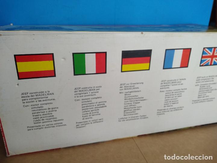 Madelman: caja jeep safari madelman original asientos duros - Foto 3 - 287848718