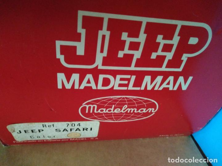 Madelman: caja jeep safari madelman original asientos duros - Foto 5 - 287848718