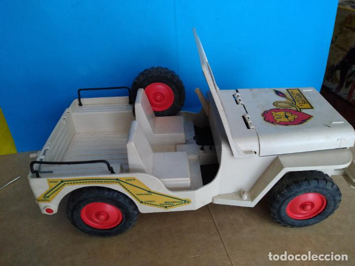 Madelman: caja jeep safari madelman original asientos duros - Foto 6 - 287848718