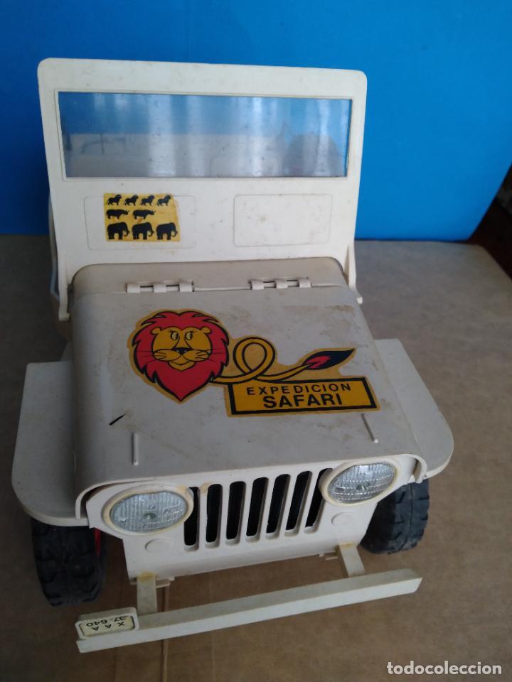 Madelman: caja jeep safari madelman original asientos duros - Foto 7 - 287848718