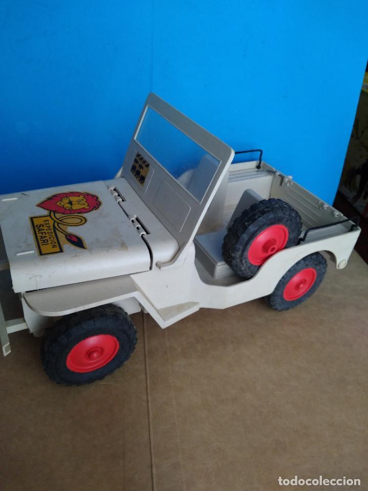 Madelman: caja jeep safari madelman original asientos duros - Foto 8 - 287848718