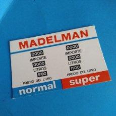 Madelman: CARTON SURTIDOR GASOLINERO ESTACION DE SERVICIO MADELMAN ORIGINAL. Lote 288017768