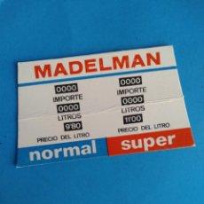 Madelman: CARTON SURTIDOR GASOLINERO ESTACION DE SERVICIO MADELMAN ORIGINAL. Lote 288017863