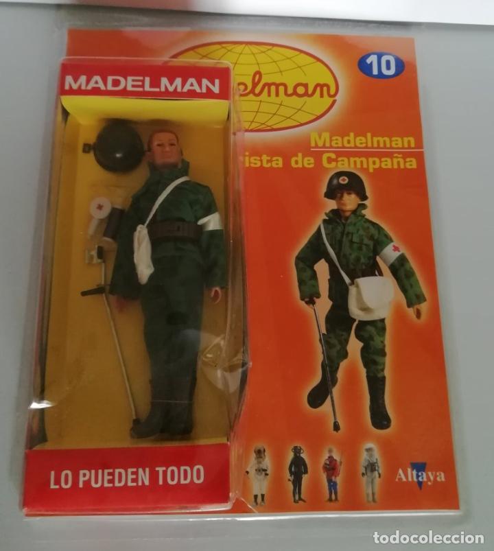 MADELMAN ALTAYA Nº 10 SOCORRISTA DE CAMPAÑA + FASCICULO EN BLISTER. CC (Juguetes - Figuras de Acción - Madelman)