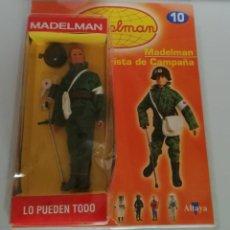 Madelman: MADELMAN ALTAYA Nº 10 SOCORRISTA DE CAMPAÑA + FASCICULO EN BLISTER. CC. Lote 288860573