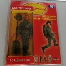 Madelman: MADELMAN ALTAYA Nº 16 SOLDADO ANTITANQUE + FASCICULO EN BLISTER. CC. Lote 288860668