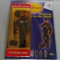 Madelman: MADELMAN ALTAYA Nº 21 ALTO MANDO + FASCICULO EN BLISTER. CC. Lote 288860813